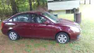 2008 hyundai accent for parts only