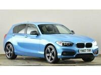 2017 BMW 1 Series 118i [1.5] Sport 5dr [Nav] Hatchback petrol Manual