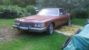 1973 buick 455&thm400 - trade for a rotten project car/truck