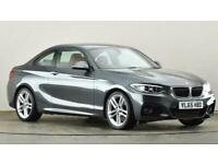 2016 BMW 2 Series 220i M Sport 2dr Step Auto Coupe petrol Automatic