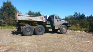 Capable snow plowing  towing and off road truck Original Russian