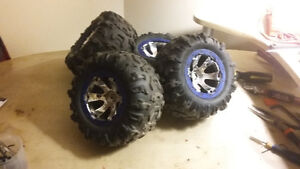 17mm hex TRAXXAS CANYON A/T tires