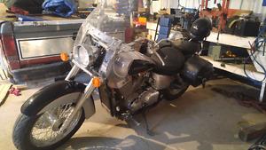 Honda Shadow Cruising/Touring Bike 400kms
