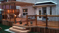 Professional deck design and construction services
