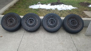 """15"""" All-season tires and Rims"""