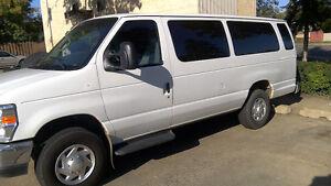 2011 Ford E-350 full size extended cargo van