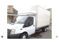 Large Luton 2012 great van with Eco stop/start can deliver uk