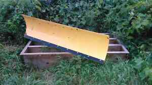 ATV snow plow blade
