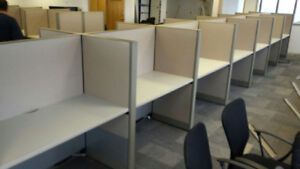 Telemarketing Cubicles - Call Center Cubicles - Hotel Staff Desk