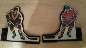 Various parts for Power Play Hockey Table Top Game