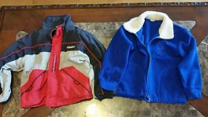 Boys - 2 jackets fits size 3 $8 for both