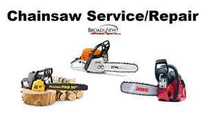 Chainsaw Service And Repair. All makes and models!