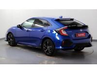 2017 Honda Civic 1.5 VTEC TURBO Sport Plus Petrol blue Automatic