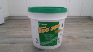 Vinyl and tile adhesive