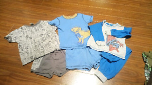 Pyjama sets for a little boy