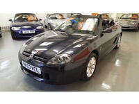 2003 53 reg MG TF 1.6cc - LOW MILEAGE - GREAT VALUE 2 SEATER CONVERTIBLE