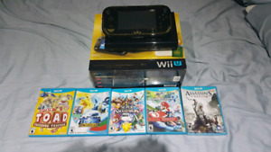 WiiU Zelda Windwaker Special Edition with games!