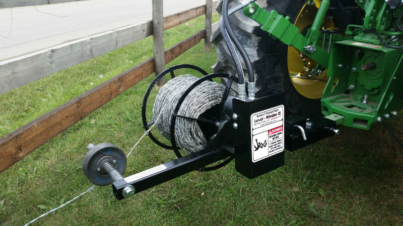 Levelwinder Ii Wire Lay Flat Hose Grain Bag Roller
