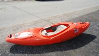 kayak riot magnum 72 montée en C1