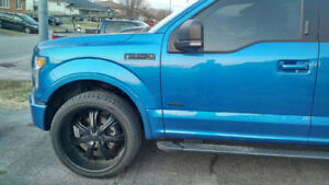24 inch U2 Wheels and Brand new tires!