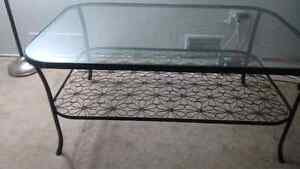Glass table in great condition