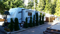 north Shuswap Lake lot and RV