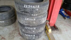 Set of 4 Dunlop SPSport 7000 AS 225/55R18 tires (50% tread life)