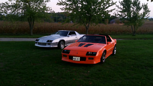 88 and 89 camaro NEED GONE! Taking serious offers now.