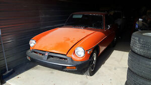 Selling 1974.5 MGB GT Coupe (2 door)