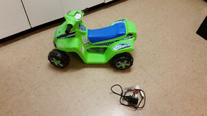 Kid Trax Moto Trax Rechargeable Riding Toy (Indoor/Outdoor) Kitchener / Waterloo Kitchener Area image 2