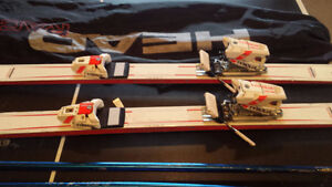 Head Radial 195 Skis with Bag and Poles