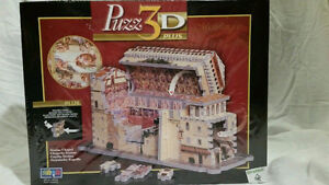 Very Rare-double-sided 3D  SISTINE CHAPEL Wrebbit puzzle London Ontario image 1
