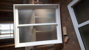 Frosted slider window.Brand new.