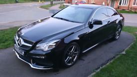 Mercedes e-class. 220cdi. Coupe