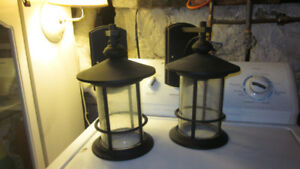 Ryder set of 2 outdoor lights