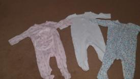 3-6 months babygrow bundle