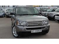 2008 LAND ROVER RANGE ROVER SPORT TDV8 SPORT HSE STORNAWAY GREY WITH A BIG SP