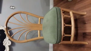 Dining chairs set of 4 vintage
