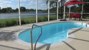 Gorgeous Florida home  on waterfront  with pool.... WOW!