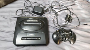 Sega Genesis Model 2 Console + controllers & wires