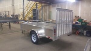 5' x 10' NEW 2019 Utility Trailer ( ALUMINUM ) Canadian Made!