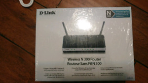 D-link Wireless N Router (Brand new sealed in box)