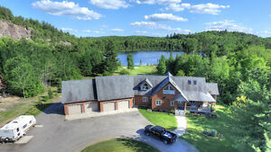 NEW PRICE - SPECTACULAR 5 BEDROOM HOME ON VANLUVEN LAKE, ON