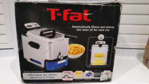 NEW - T-Fal semi-pro Deep fryer