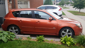 2004 Mazda 3GT 2.3L       AS IS    asking $1500 o.b.o
