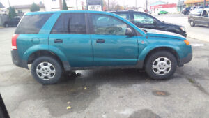 2005 Saturn VUE with snow tires