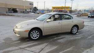 2003 Lexus ES 300, Auto, leather,Sunroof,  3/ Y warranty availab