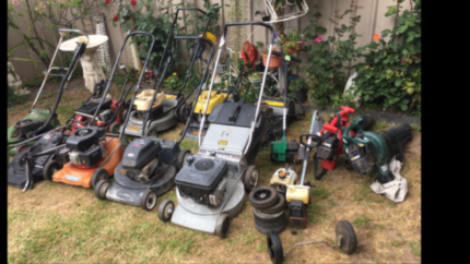 Bumper Lawn Mower Blower Repair Resell Lot Straight From Storage