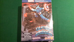 Captain America, Hulk, Spider-man and Wolverine Model collection