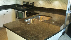 GRANITE COUNTERTOPS - Installed in just 7 Days ** ED Edmonton Edmonton Area image 4